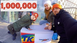 TimKo Kid 1,000,000 SUBSCRIBERS!!! THANK YOU! TOYS FOR KIDS | Tim Doing Shopping at the Toy Store