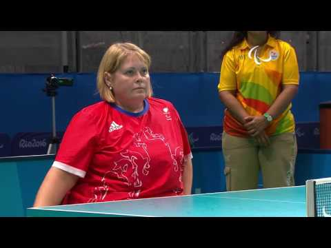 Table Tennis |GBR vs TPE| Women's Singles Class 4 | Rio 2016 Paralympic games