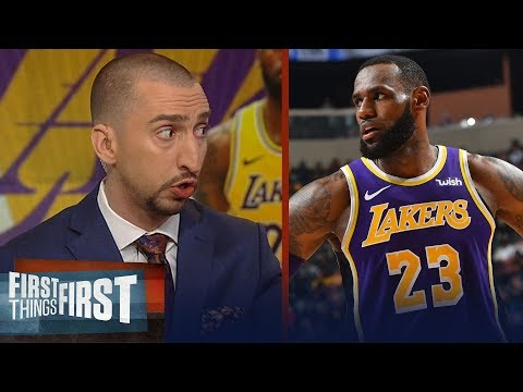 Nick Wright refutes Scottie Pippen's comments on LeBron, talks Lakers | NBA | FIRST THINGS FIRST thumbnail