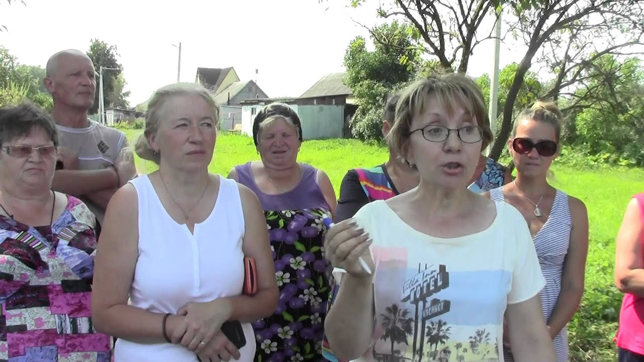 В деревне Товарищево Московской области отметил - YouTube