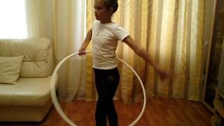Художественная гимнастика. Тренировка дома