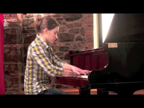 Martina Mora 9 aprile 2012 Czerny dai 50 studi brillanti op 740 I Piccoli Musici