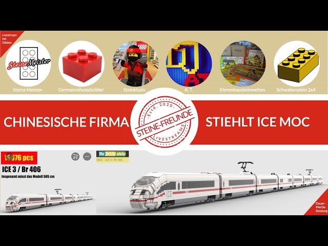 Gestohlene MOCs und was man dagegen tun kann - Das Beispiel ICE von Germanrailwaybuilder