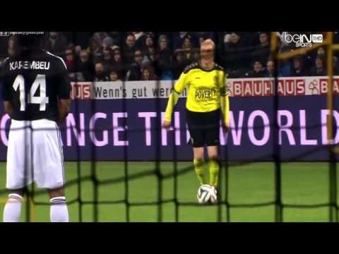 Ronaldo and Zidane 8-6 (Match against Poverty 4/3/2014)