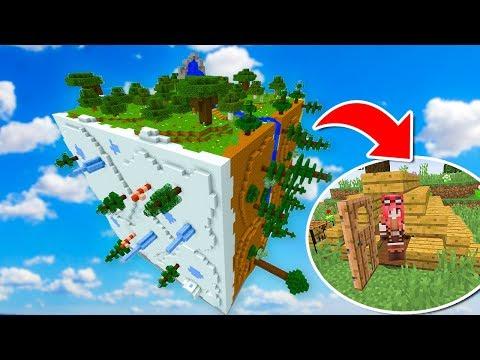 Minecraft ITA - Si può vivere in un MONDO QUADRATO???