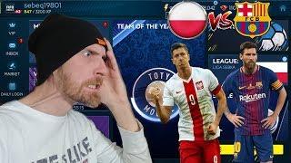 FIFA MOBILE 19 POLSKA VS FC BARCELONA LEWANDOWSKI VS MESSI KTO BYŁ LEPSZY?