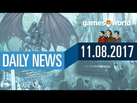 PUBG, WoW-Erweiterung, Xbox One Achievements, GC Gewinnspiel   Gamesworld Daily News - 11.08.2017