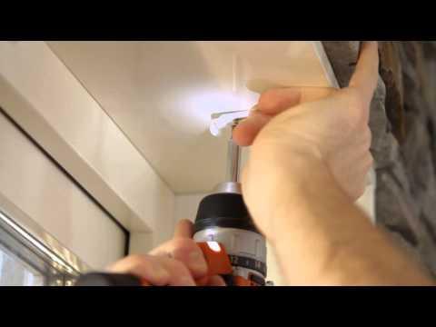 Monteringsinstruktioner för Lamellgardiner