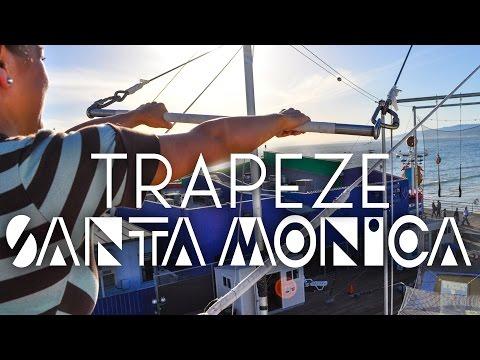 Flying Trapeze in Santa Monica