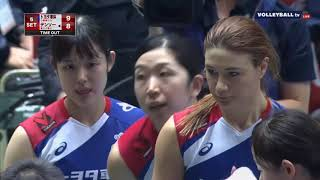 (EMPRESS CUP 2017 FINAL) DENSO AIRYBEES vs. TOYOTA AUTO BODY QUEENSIES (SET 5)
