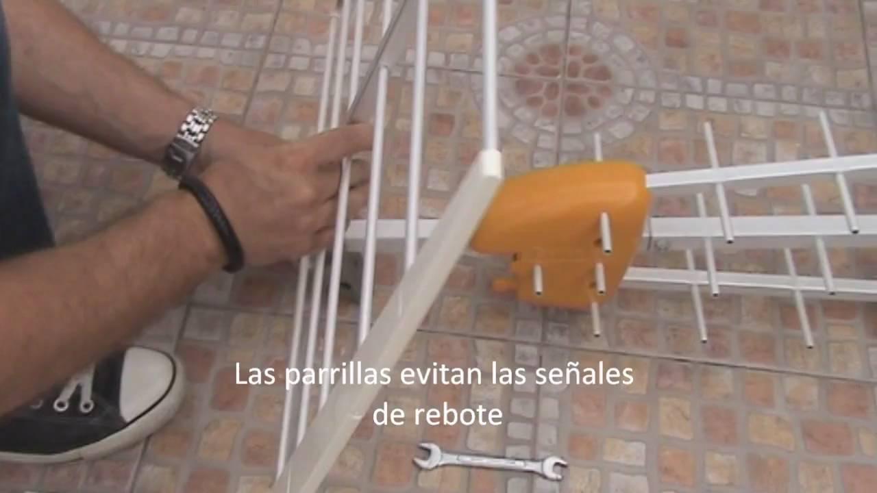 Montar antena para la tdt televes dat hd boss youtube - Amplificador de antena ...