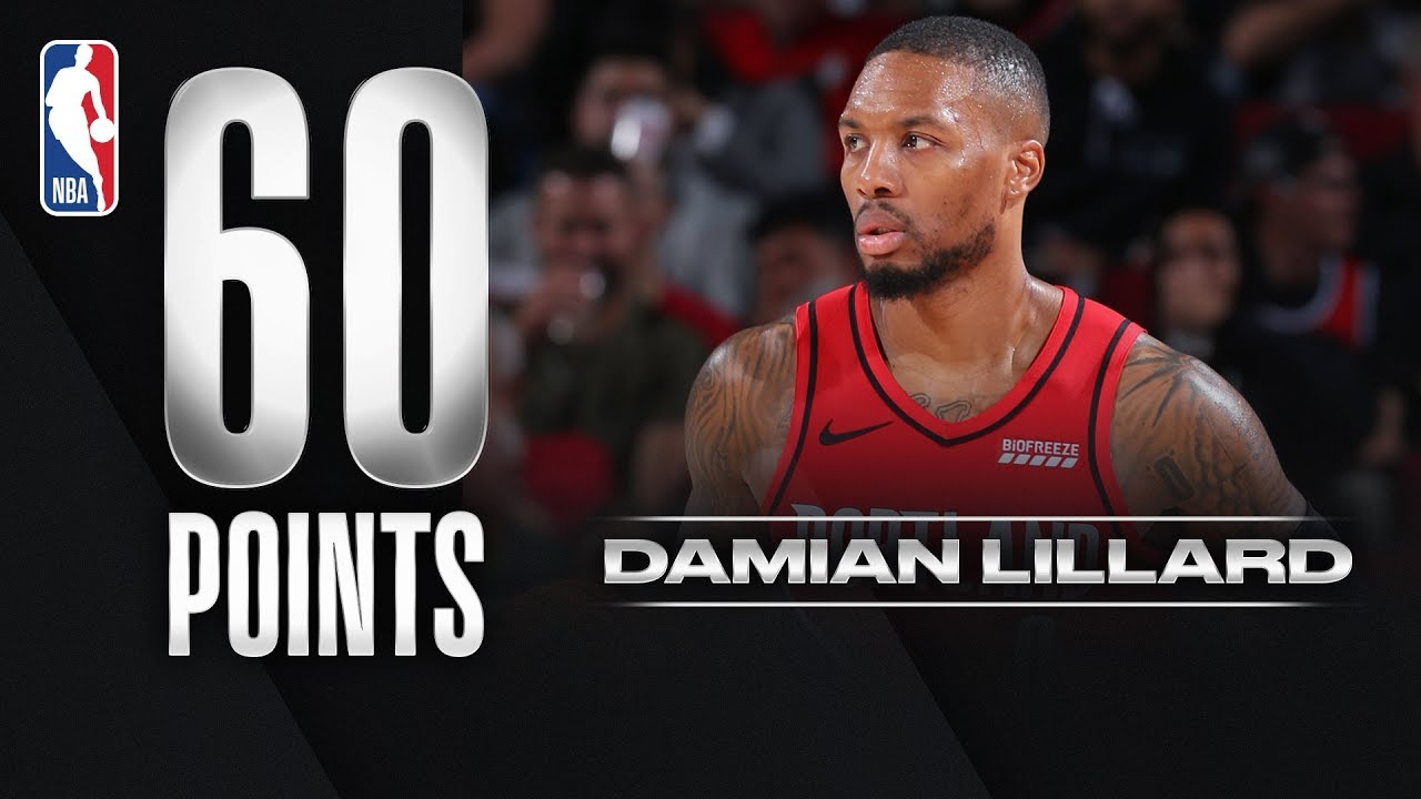 Damian Lillard ERUPTS For 60 PTS!