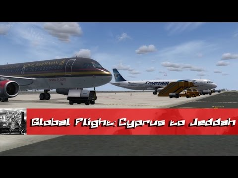 LOST IN ARABIA   Cyprus to Jeddah - Round The World Flight #3