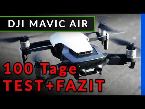 DJI Mavic Air: Fazit nach 100 Tagen Test & Vergleich - welche Drohne kaufen? [deutsch]