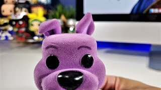 Unboxing Scooby Doo Purple Funko Pop Exclusive