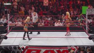 Kelly Kelly vs Maryse Divas Championship