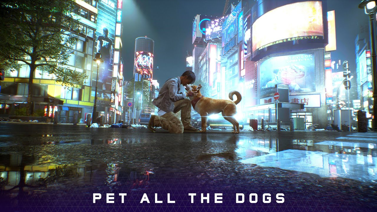 Ghostwire: Tokyo - QuakeCon at Home | Pet all the dogs