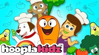 I Love Vegetables Song + More Nursery Rhymes & Kids Songs - HooplaKidz