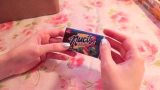Munchpak International Candy Unboxing (ASMR soft spoken, packaging, and eating sounds)