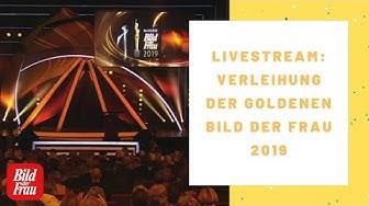 Verleihung der GOLDENEN BILD der FRAU 2019 - Live!