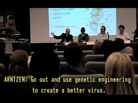Biowarfare Researcher Cracks Joke About Genetically Engineered Virus Killing 25% of Population