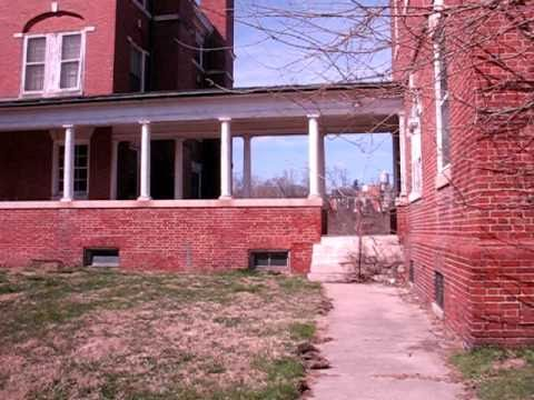 Abandoned Springfield Hospital Center 1 - Going Inside The Main Building