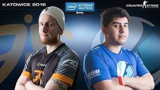 CS:GO - Fnatic vs. Luminosity [Overpass] Map 1 - IEM Katowice 2016 - Grand Final(Fnatic take on Luminosity in the Grand Final of IEM Katowice 2016! Find out who gets one step closer to playing on the big stage and earning the title of IEM ..., 2016-03-05T21:39:57.000Z)