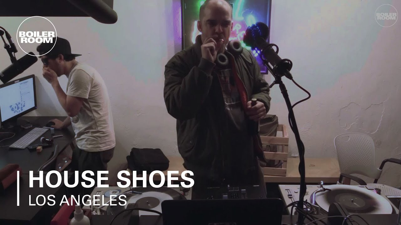 Dj House Shoes Boiler Room