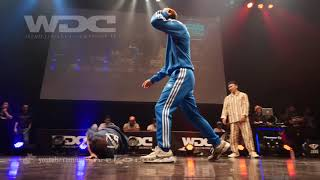 GOOD FOOT(YOSHIKI GEN ROC) vs Hastle Kidz(Justen & Kid Colombia) BEST4 BREAKIN' WDC 2018 FINAL