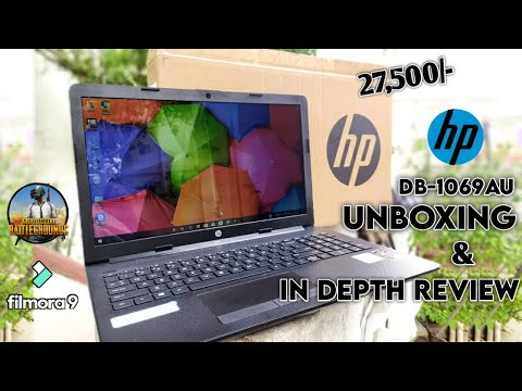 HP 15 db-1069au 4GB RAM/1TB HDD Unboxing And Indepth Review With PUBG Test||Best Laptop Under 30k