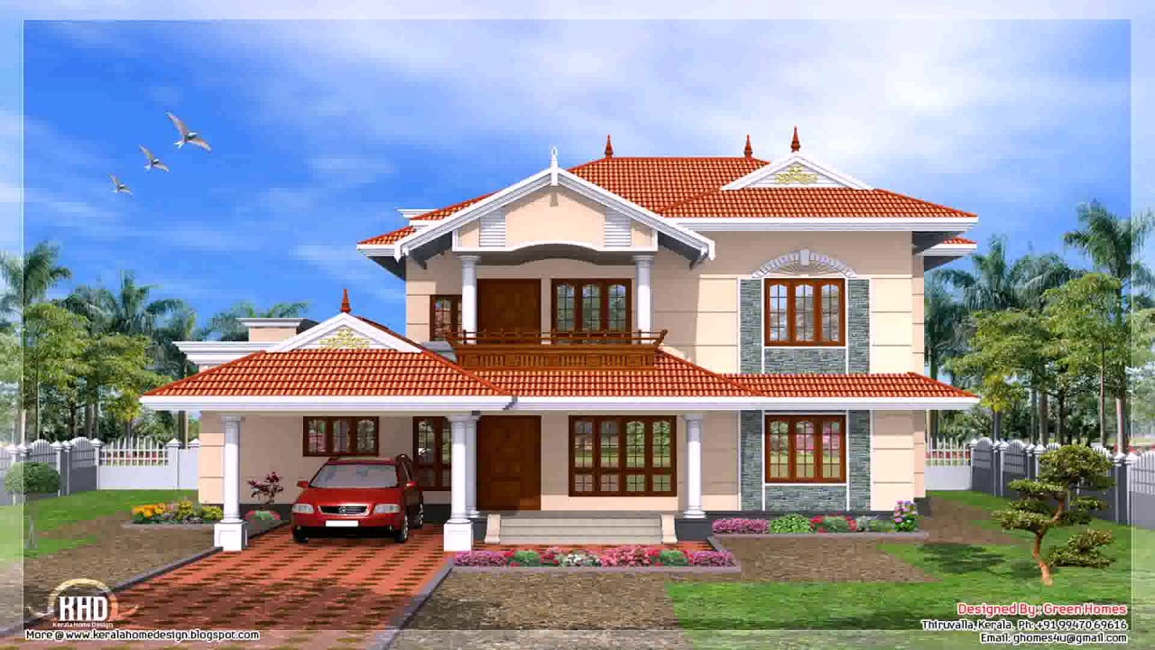Simple house rooftop design
