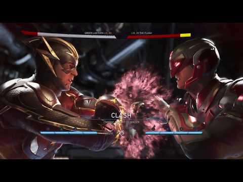 Injustice 2 Atom VS The Flash Single Fight