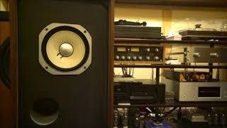 音源はレコード。アンプはLNP-2LとSV300BEです。
