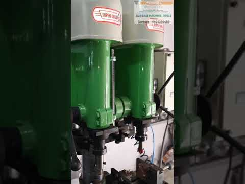 Dual Spindle Drilling And Tapping Machine