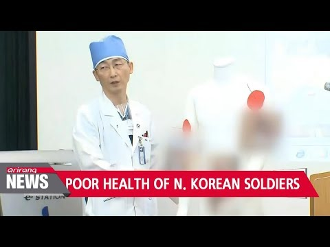 Excessive no. of parasites in defected N. Korean soldier shows dire situations of N. Korean military