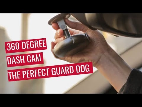 Vezo 360   Worlds Smartest 4K 360 Degree Dash Cam - The Perfect Guard Dog
