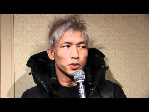 Kazuyuki Miyata's Pre-Fight Interview