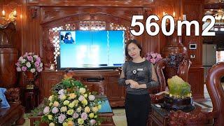 Khám Phá Lâu Đài Cổ Điển Pháp Lộng Lẫy Rộng 560m2 Của Bà Huyền -  Thái Nguyên