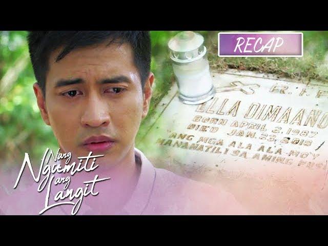 Michael learns about Ella's passing   Nang Ngumiti Ang Langit Recap
