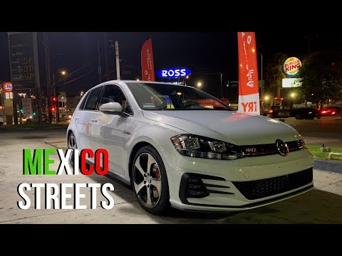 GTI Battles Genesis 3.8, Civic SI and MORE - Mexico Streets