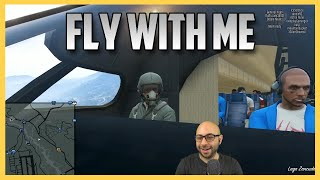 GTA 5 - Fly With Swiftor Airlines. Fasten your parachutes. (GTA V Online) | Swiftor