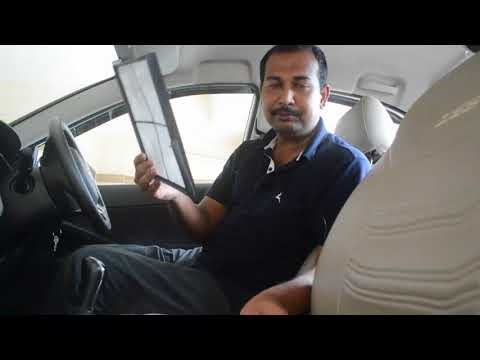 AC filter / Cabin air filter Cleaning - Tata Zest