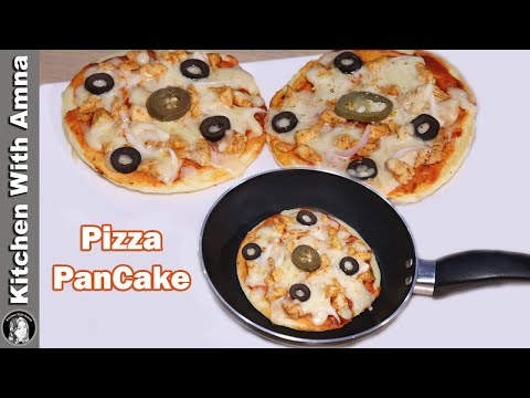 Pizza PanCake Recipe | 2020 Ramadan Recipes | Kitchen With Amna