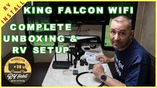 King Falcon WiFi - Automatic Directional Antenna and Router for the RV – Install, Setup, Review