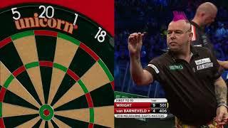 PDC Melbourne Darts Masters 2018 - Peter Wright vs Raymond van Barneveld Part 2/2