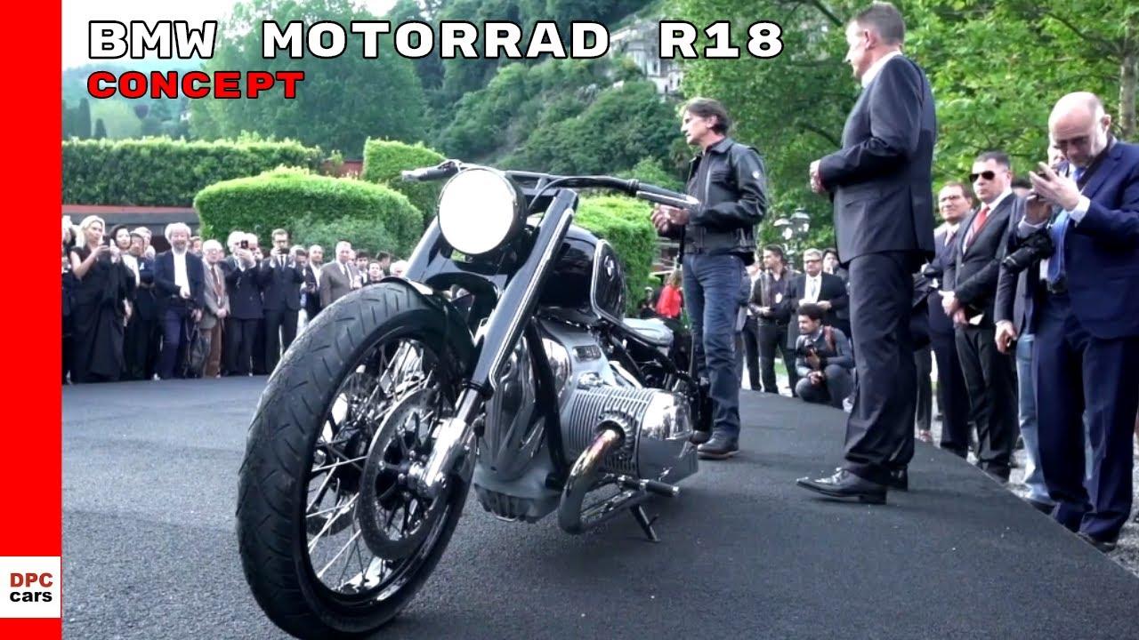 Bmw Motorrad Concept R18 Motorcycle