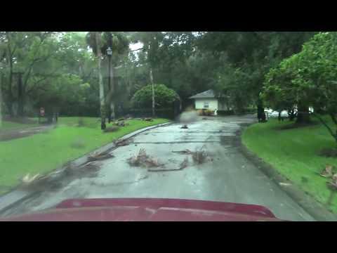Hurricane Irma Oak Hill Lighthouse Cove Florida