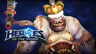 ♥ Heroes of the Storm (Gameplay) - Stitches, Back On The Throne (HoTs Quick Match)