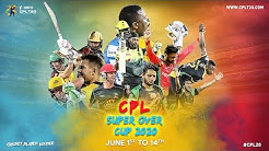 CPL SUPER OVER CUP | MATCH 06 Warner v De Villiers | #CPL20 #CPLSuperOverCup #CricketPlayedLouder
