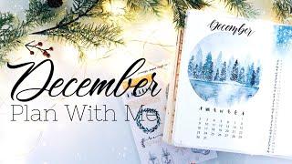 PLAN WITH ME | December 2018 Bullet Journal